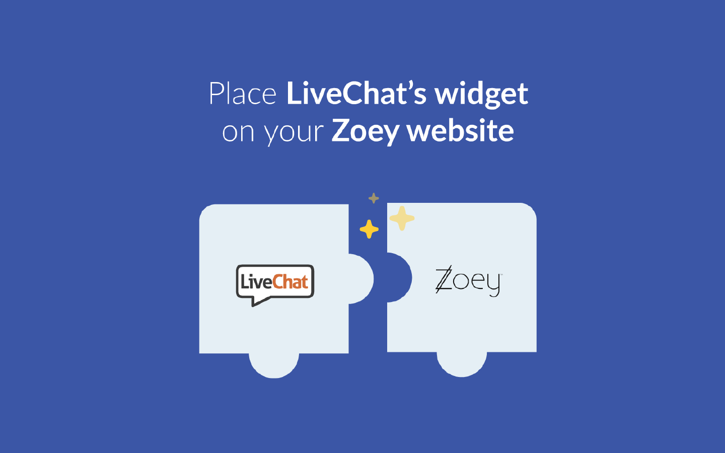 Add LiveChat to Zoey