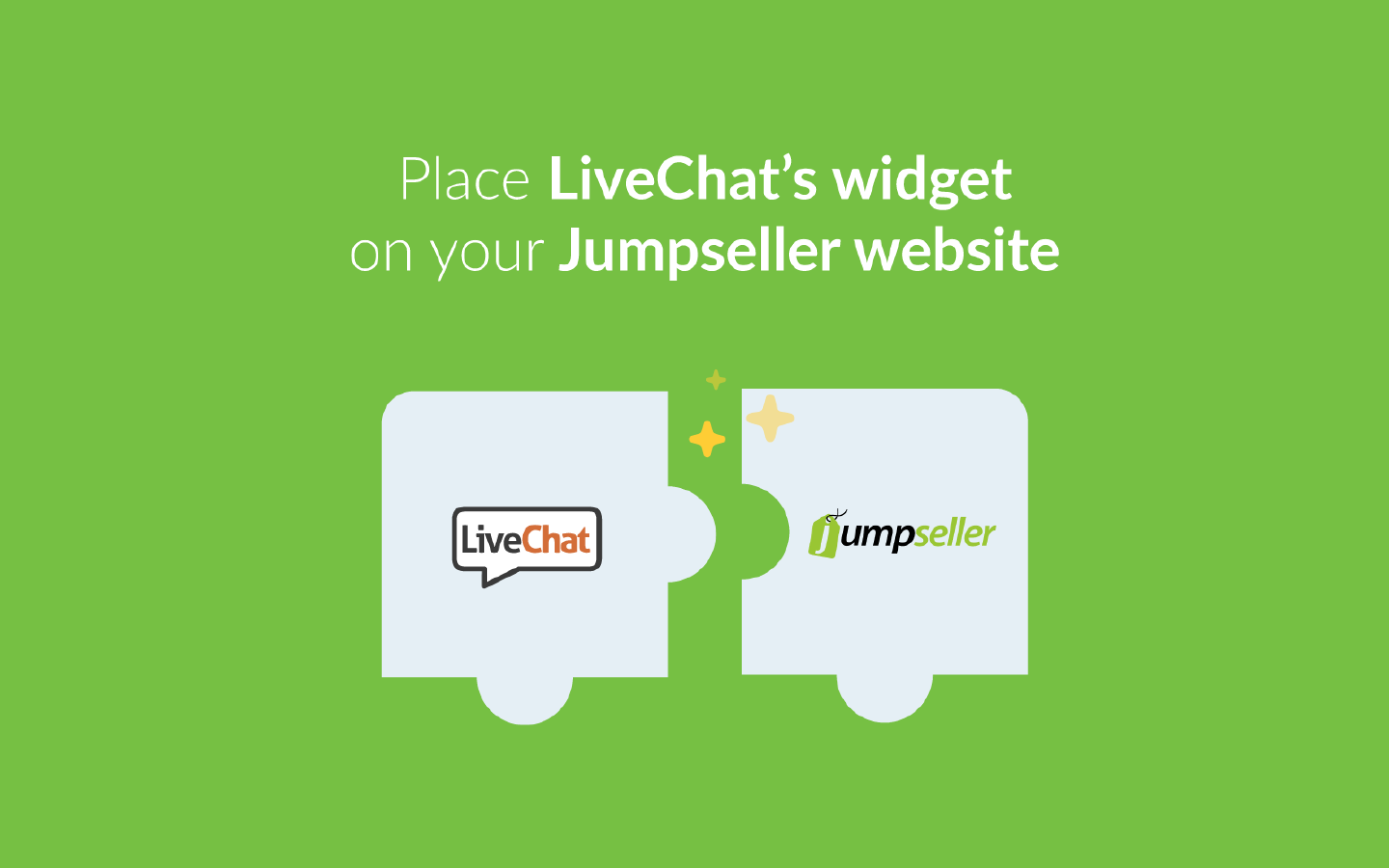 Add live chat to Jumpseller
