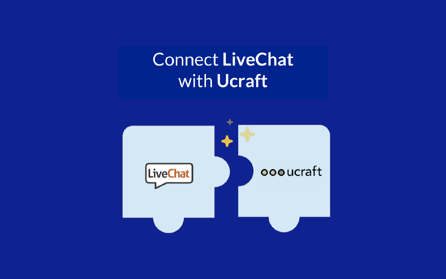 LiveChat and Ucraft