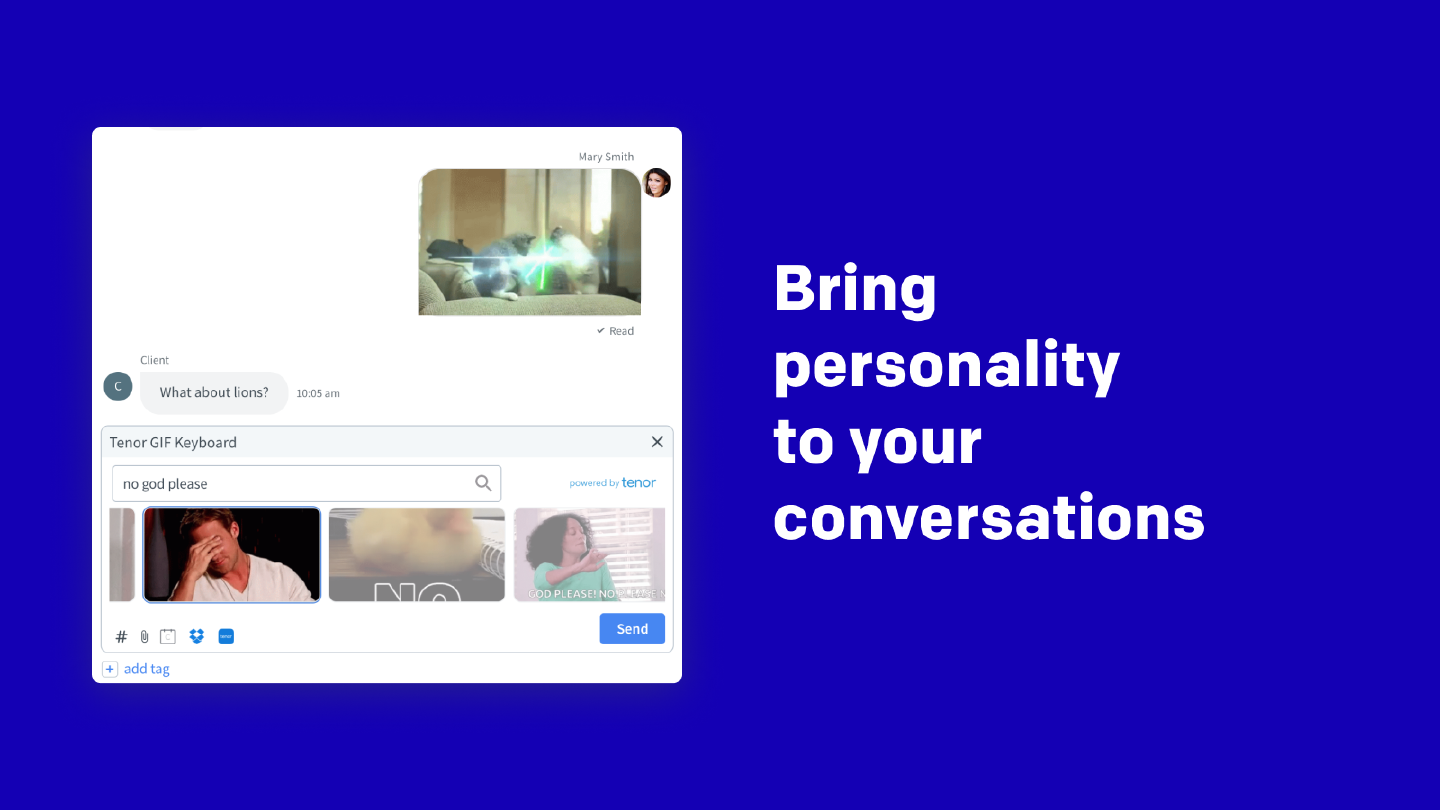 Bring personality to your conversations