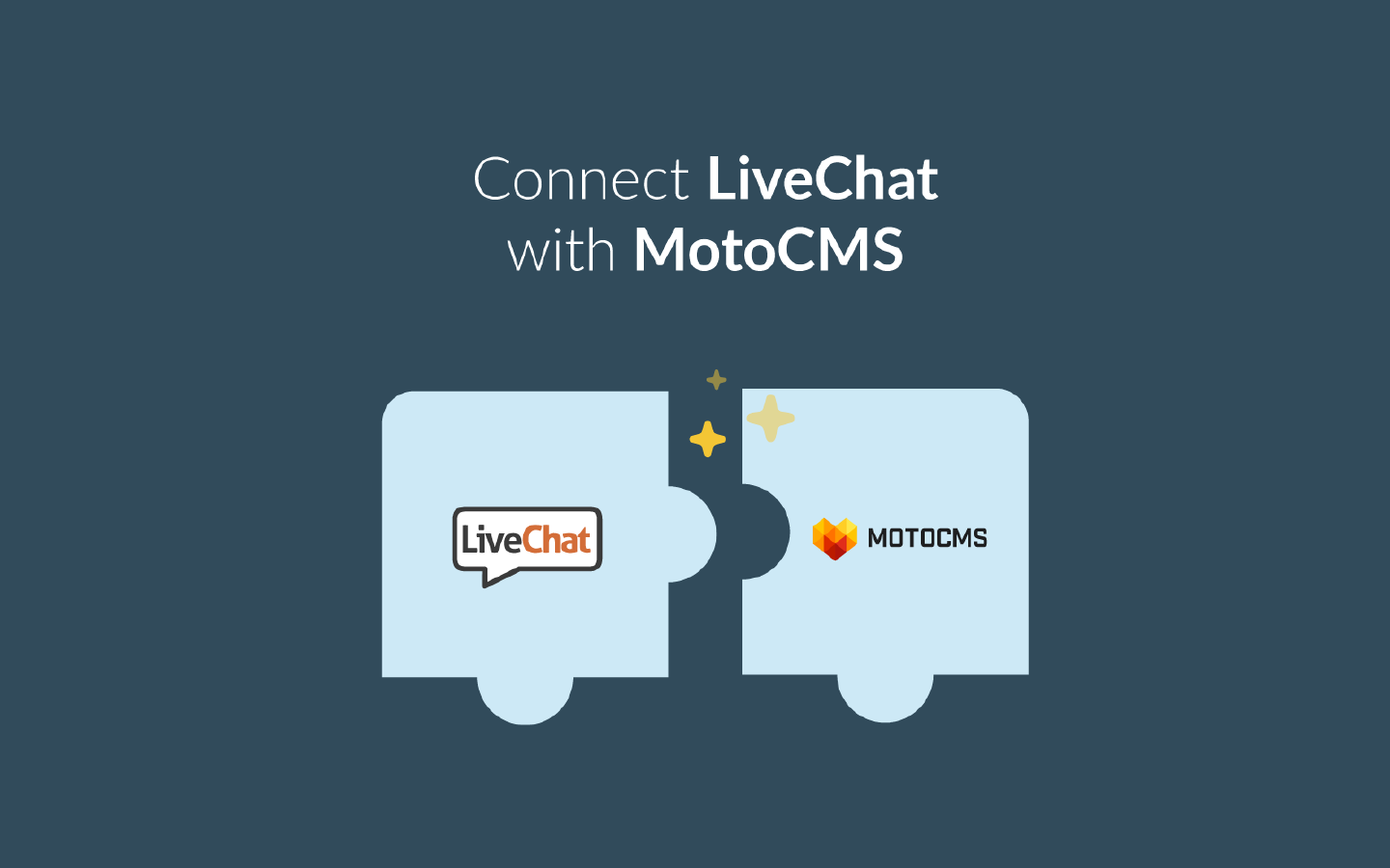 Connect LiveChat with MotoCMS