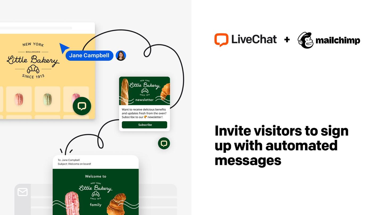 Mailchimp automated messages