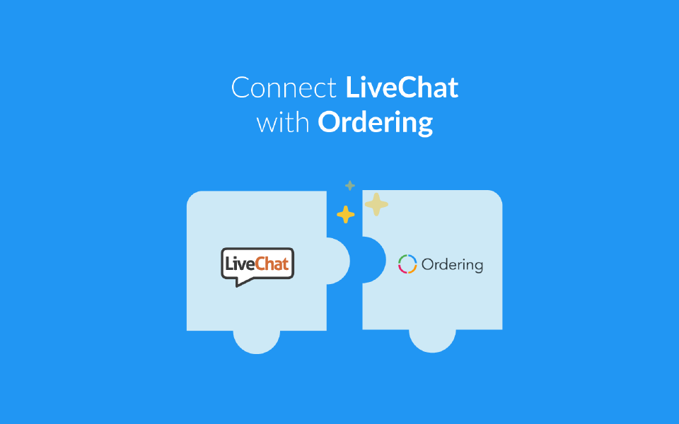 LiveChat with Ordering