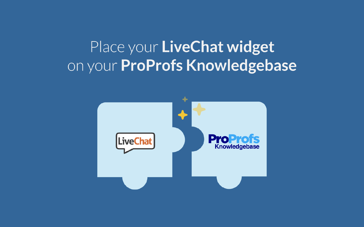 ProProfs integrates with LiveChat