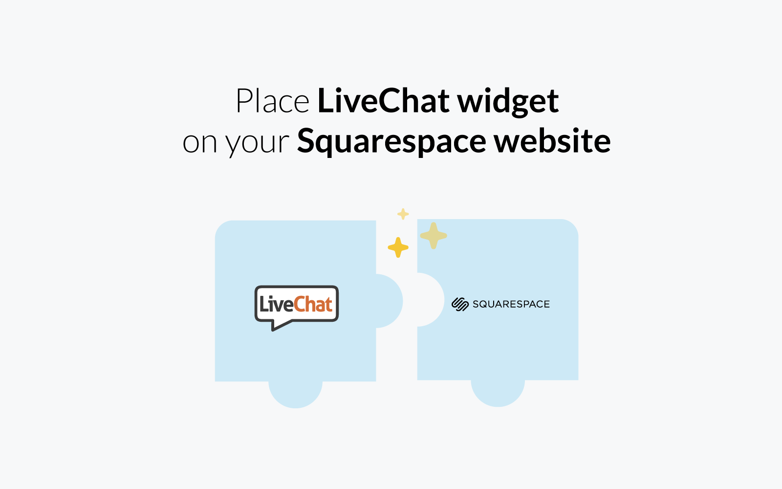 live chat for squarespace | livechat - squarespace integration | add