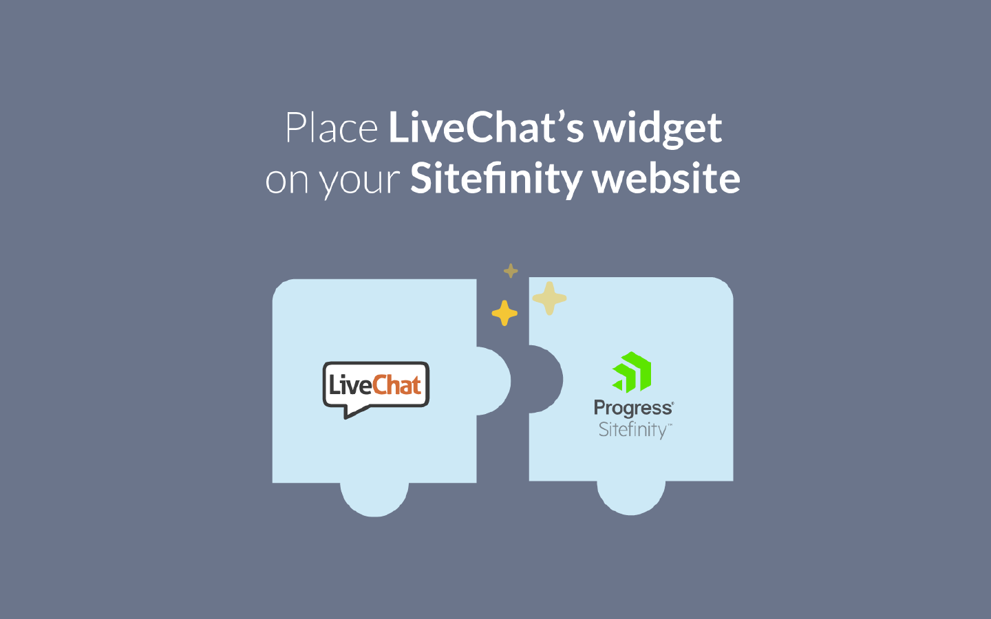 Sign In with your LiveChat account to enable chat. No code needed.