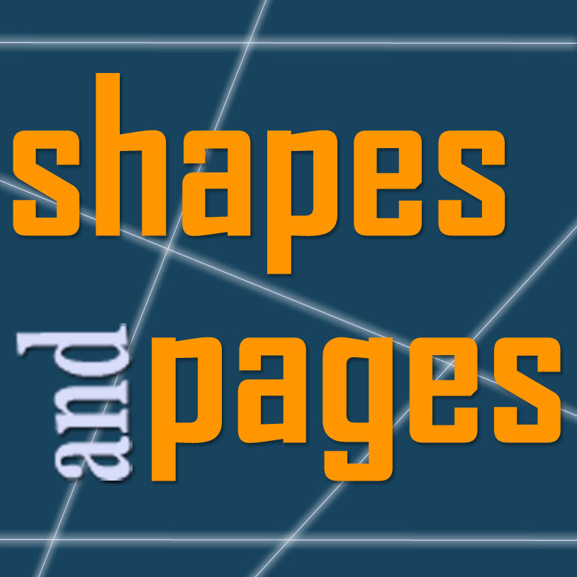 Shapes and Pages, LLC logo